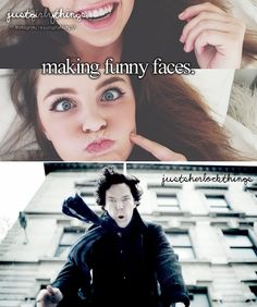The Sherlock fandom making fun of Just Girly Things is literally my favorite thing in the entire world.
