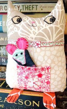 modflowers: umbrella prints mini cat