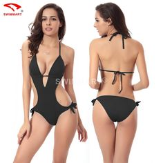 d0f67eb370a 2016 High Quality Summer Sexy Women Swimsuits Push Up Brazilian Bikini One  Piece Smonokini Bathing Suit Maillot De Bain   Sexiest clothes like  lingerie bra ...