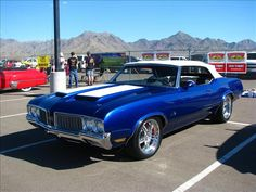 1970 Olds Pro-Touring 442 Convertible. Awesome American Musclecar!
