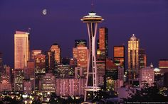 seattle | ... competition: San Francisco vs Seattle-moon_over_seattle_1440x900.jpg