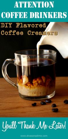 Best coffee drinks - creamer recipes