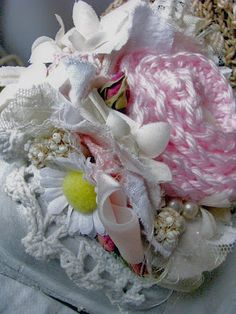 Handmade posey flowers