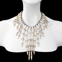 Turkey talon necklace by Ossuaria Jewelry
