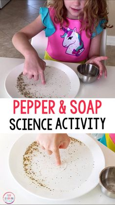 Magic Pepper and Soap Science Experiment