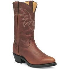 Durango Boot TR762 11 - Peanut Oil Tan Leather with FREE Shipping & Returns. Western wings design on an all leather upper with a leather shaft
