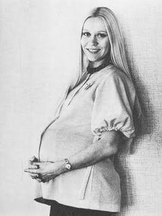Pregnant Agnetha