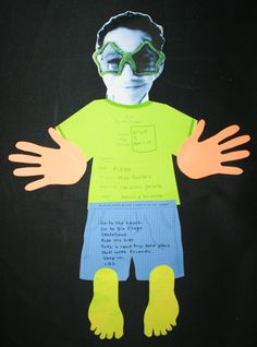 Te riffic Student T Shirt Writing Prompt and Craftivity - Great for getting to know students as they come back to school.