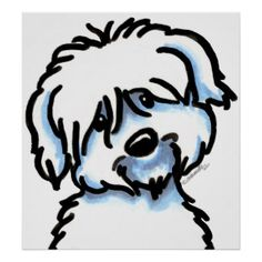 Coton De Tulear Art, Posters, & Framed Artwork | Zazzle