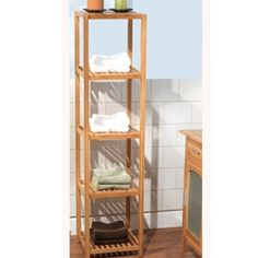 Shop For Simple Living Bamboo 5 Tier Shelf. Get Free Delivery At Overstock.  Bamboo ShelfFurniture OutletOnline ...