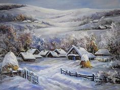 """""""Winter in the mountains"""" by Anca Bulgaru"""