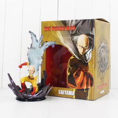 ==> [Free Shipping] Buy Best High quality 24cm anime ONE PUNCH MAN Saitama PVC Figure Toy Online with LOWEST Price   32813214040