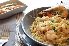 Da tempo mi ero ripromessa di preparare la ricetta del risotto ai gamberi rossi di Sicilia e mazzancolle. Avevo preparato tutto quanto. Comprati tutti gli ingredienti, il tempo necessario per la preparazione ritagliato da un giorno di ferie, insomma pronta per partire.