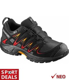 9e55d97f9cf Salomon xa pro 3d cswp j αθλητικο παιδικο παπουτσι αδιαβροχο μαυρο