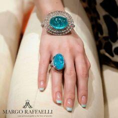 @arunashibh is gorgeous working with Paraiba tourmalines ❤️ Credit: Rimma Zarbeeff for www.margoraffaelli.com  @hernameismargo.ru