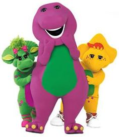 While Barney wasn't in my childhood days, he was certainly a blast from my girls' past...we even went to see him in concert!