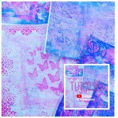 Im Video gibts ein paar Inspirationen für euch zur Gelli-Plate mit Schablonen und Acrylfarben :-) Achtung-Suchtgefahr :-) Lg Katharina Fantasy, Abstract, Artwork, Stencils, Couple, Creative, Summary, Work Of Art, Auguste Rodin Artwork