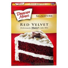 """Doctored red velvet cake mix! This is a delicious and easy """"recipe"""" with an awesome result. (Links to a description of the recipe on the Wilton forums.)"""
