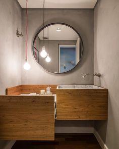 """4,589 curtidas, 28 comentários - In and Out Decor (@inandoutdecor) no Instagram: """"Funcional, estiloso e cheio de personalidade no lavabo projetado pela dupla da…"""""""