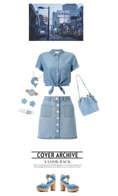 """""""City girl"""" by chengyijia ❤ liked on Polyvore featuring Miss Selfridge, MICHAEL Michael Kors, Michael Kors, Skagen and Jardin"""