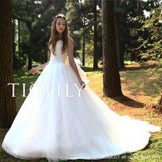 TIGLILYウェディングドレス_ホワイトドレス(w2009)