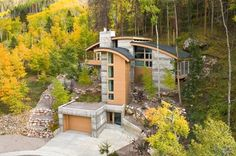 Built within nature. Source: houzz.com