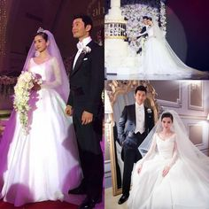 Online Shopping Wedding Dresses 2015 New Design Angelababy Wedding Dresses Ball Gown Sexy V Neck Long Sleeve Sheer Beads Ruffles Court Train Lace Bridal Gowns Vestidos De Monique Wedding Dresses From Cc_bridal, $139.9| Dhgate.Com