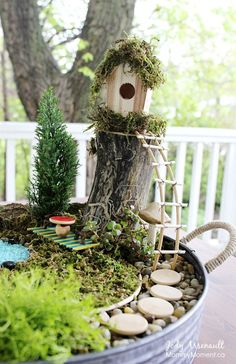 Budget-Friendly Fairy Housecountryliving