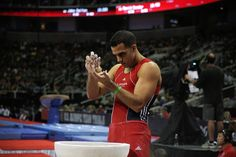 There's a recipe to winning an Olympic medal on the parallel bars, and the key ingredient is sticky fingers. A gymnast's arsenal can include molasses, syrup and honey.