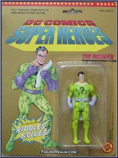 Toy Biz DC Comics Super Heroes The Riddler Figure 1990