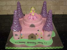 First castle cake