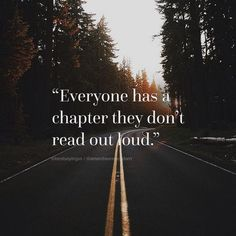 Everyone has a chapter they don't read out loud