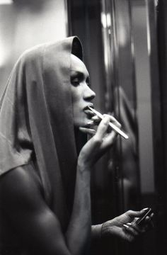 Azzeline Alaïa 1984 : Grace Jones