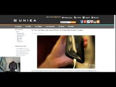 UNIEA's Burning Issue, Episode 1: Low Cost iPhone