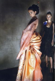 lee young hee hanbok from Vogue Korea