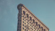 Дом Утюг (Флэтайрон-билдинг) в Нью-Йорке