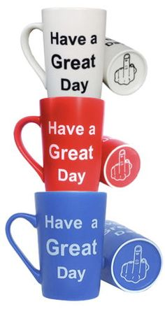 Funny and unique gift ideas for those people that are just so hard to shop for. Gag Gifts, Funny Gifts, Best Gifts, Funny Christmas Gifts, Christmas Humor, Gifts For Coworkers, Gifts For Friends, Have A Great Day, Coffee Mugs