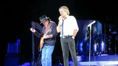 Rod Stewart Carlos Santana I'd rather go blind