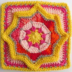 Granny star crochet