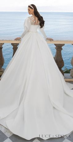Turkish Wedding Dress, Italian Wedding Dresses, Muslim Wedding Dresses, Gorgeous Wedding Dress, Dream Wedding Dresses, Bridal Dresses, Beautiful Dresses, Wedding Gowns, Dress Wedding