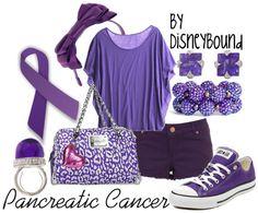 Disney Bound - Pancreatic Cancer Awareness
