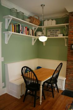 the jones journal tina jones picasa web albums kitchen corner benchkitchen tableskitchen - Built In Kitchen Table