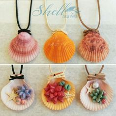 #handmade #crafts #DIY #seashells #natural #scallop_shells #polymer_clay #Succulents #cactus #cacti #string_of_pearls #cactusshop #shell #accessories #necklace #car #Facebook #Instagram