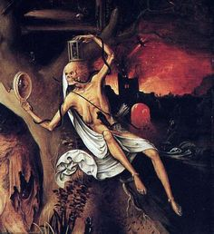 Jan Mandyn, Temptations of St. Anthony (detail), 1555.