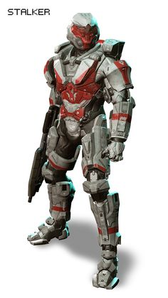 """HALO 4 Armor (I think someone was watching Leagues Undersea""""when they though of this one. It's a little goofy but i like it) Cyberpunk, Armor Concept, Concept Art, Odst Halo, Halo 2, Soldado Universal, Game Character, Character Design, Chasseur De Primes"""