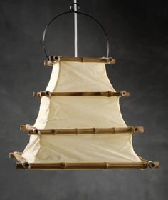 Bamboo and Cloth 16x12 Lanterns $16 each / 3 for $15 each