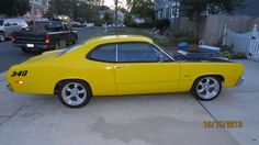 Make:  Plymouth Model:  Duster Year:  1973 Exterior Color: Yellow Interior Color: Black Vehicle Condition: Excellent Price: $27,000 Mileage:2,000 mi  For More Info Visit: http://UnitedCarExchange.com/a1/1973-Plymouth-Duster-228684172392