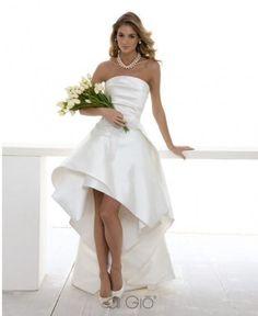 abiti sposa lunghi dietro corti davanti - Cerca con Google
