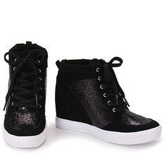 Tênis Sneaker Feminino Via Marte - Preto