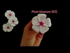 Origami Plum Blossom / Wintersweet / Flower 折纸 梅花 – Origami Community : Explore the best and the most trending origami Ideas and easy origami Tutorial Origami Design, Diy Origami, Gato Origami, Origami Star Box, Origami And Kirigami, Origami Fish, Origami Folding, Paper Crafts Origami, Origami Artist